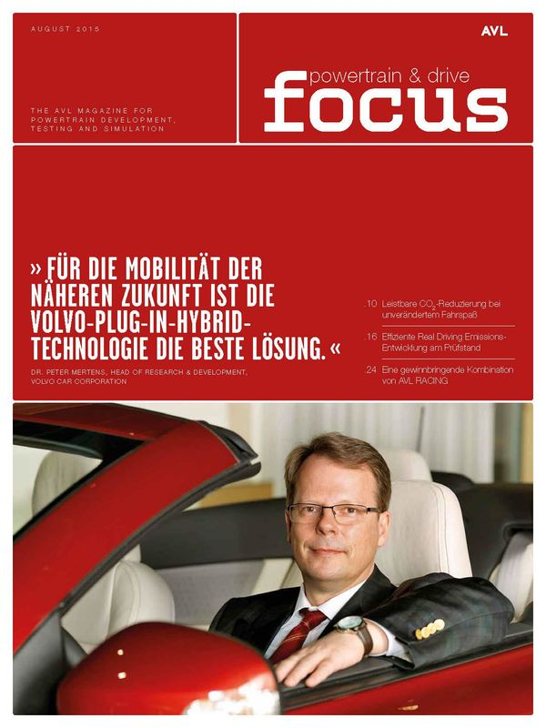 Cover of the book 'AVL Focus, Volume 02/2015'
