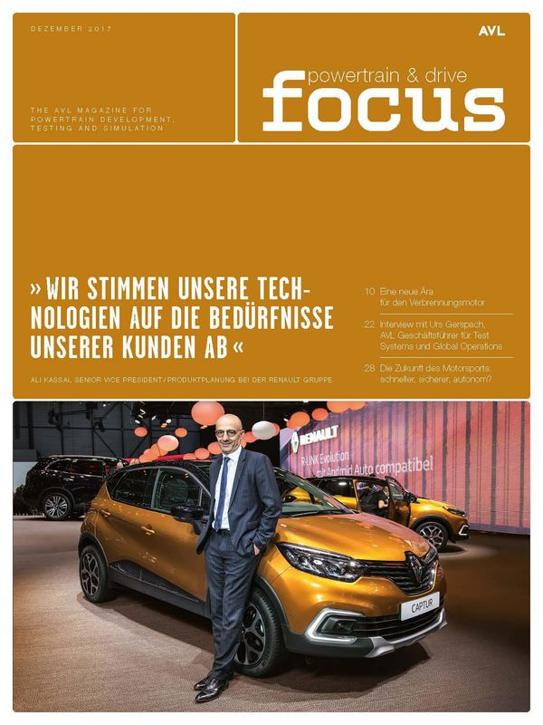 Cover of the book 'AVL Focus, Volume 02/2017'