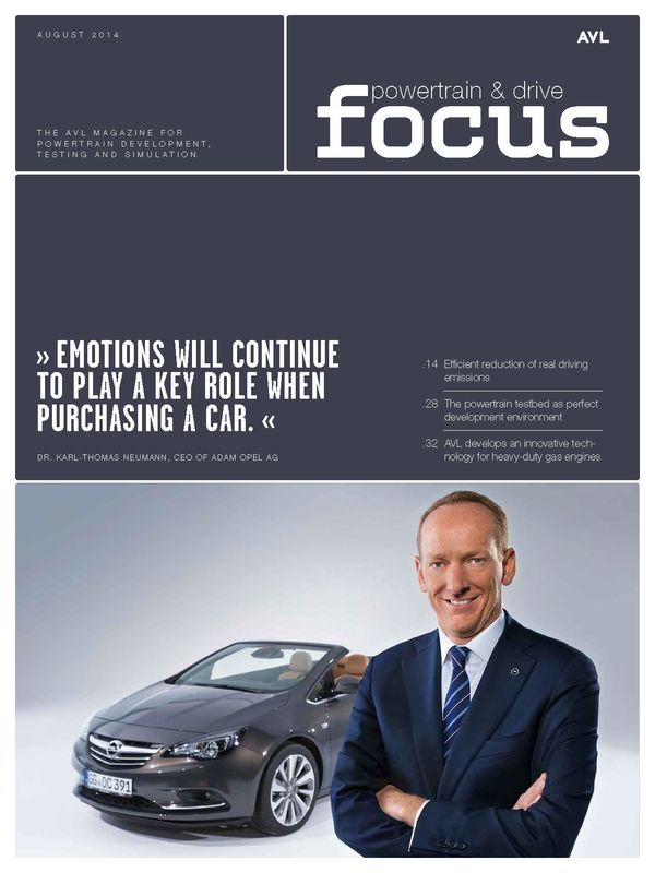 Cover of the book 'AVL Focus, Volume 02/2014'
