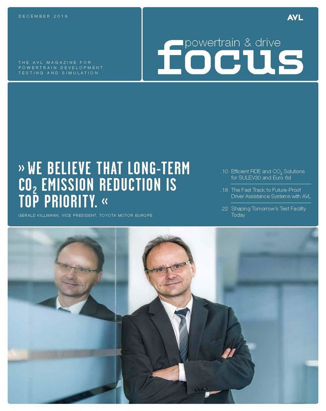 Cover of the book 'AVL Focus, Volume 02/2016'