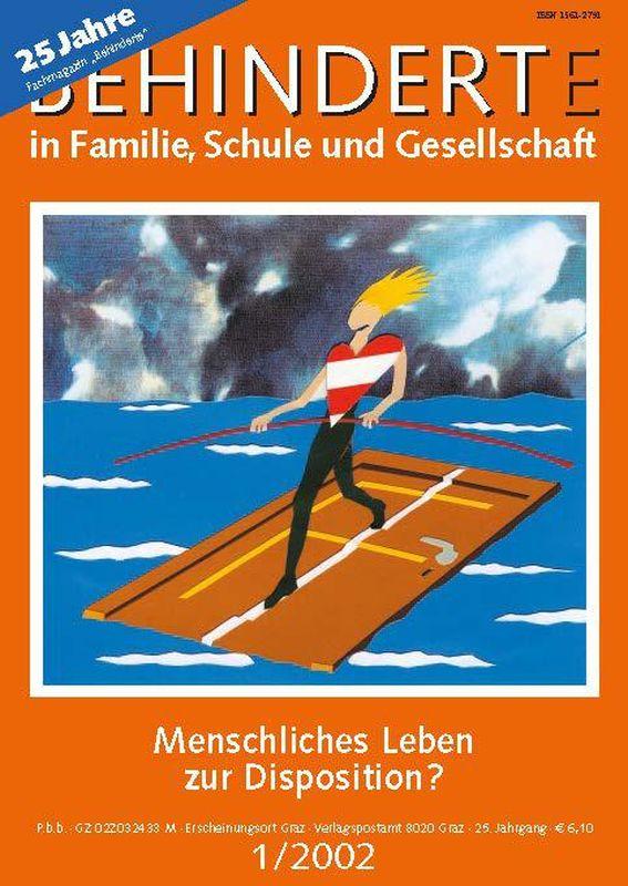 Bucheinband von 'Behinderte in Familie, Schule und Gesellschaft, Band 1/2002'