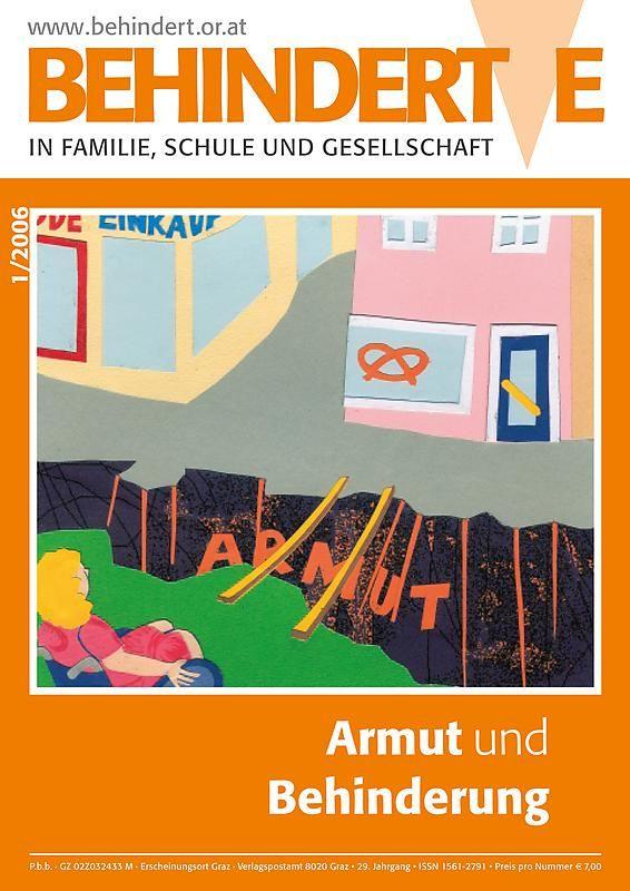 Bucheinband von 'Behinderte in Familie, Schule und Gesellschaft, Band 1/2006'