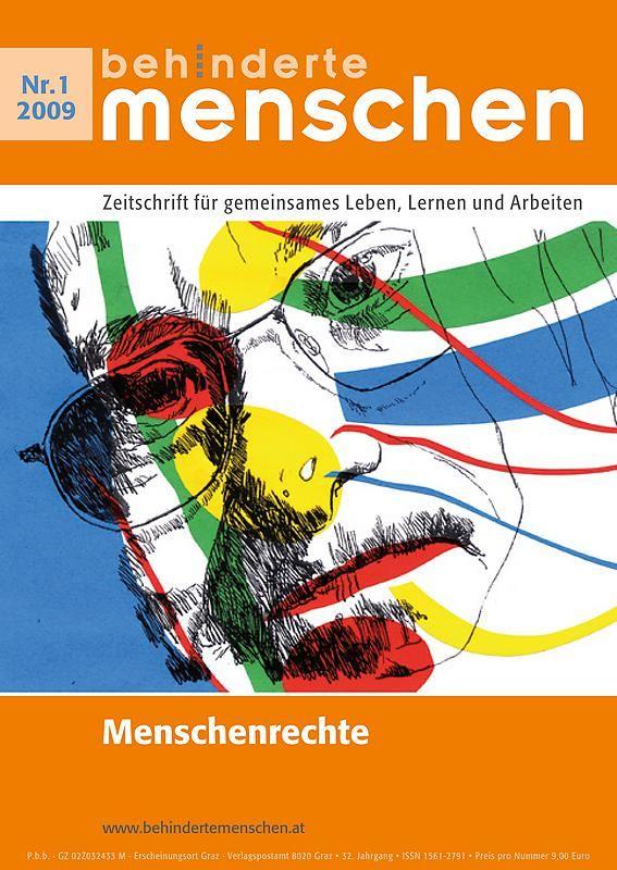 Bucheinband von 'Behinderte Menschen - Zeitschrift für gemeinsames Leben, Lernen und Arbeiten, Band 1/2009'