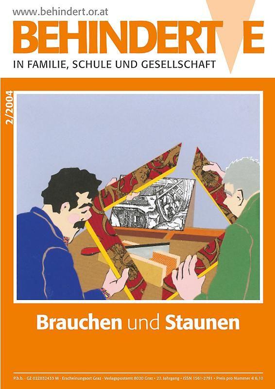 Bucheinband von 'Behinderte in Familie, Schule und Gesellschaft, Band 2/2004'