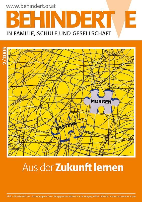 Bucheinband von 'Behinderte in Familie, Schule und Gesellschaft, Band 2/2005'