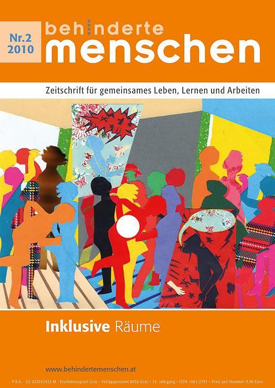 Bucheinband von 'Behinderte Menschen - Zeitschrift für gemeinsames Leben, Lernen und Arbeiten, Band 2/2010'