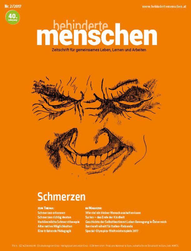 Bucheinband von 'Behinderte Menschen - Zeitschrift für gemeinsames Leben, Lernen und Arbeiten, Band 2/2017'