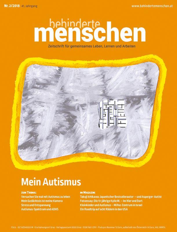 Bucheinband von 'Behinderte Menschen - Zeitschrift für gemeinsames Leben, Lernen und Arbeiten, Band 2/2018'
