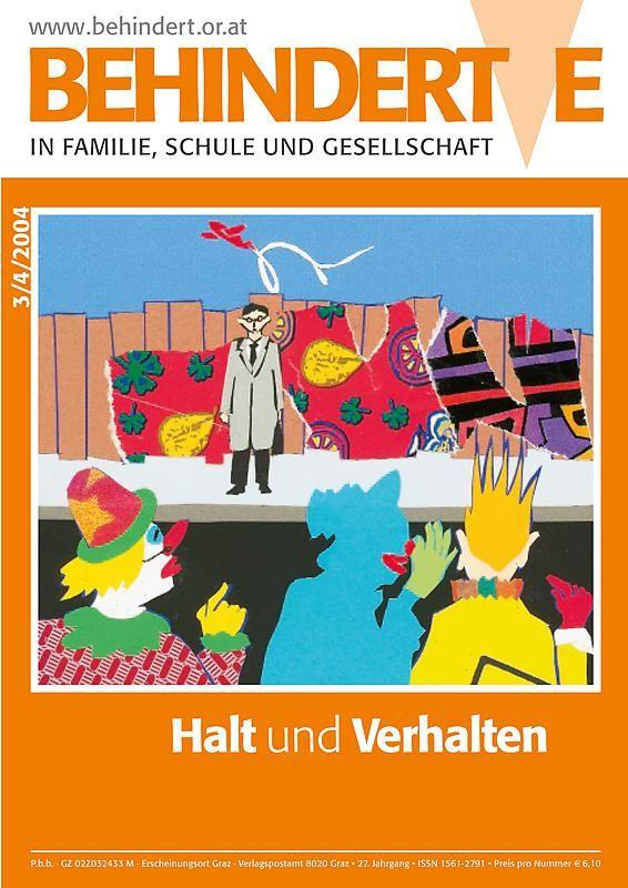 Bucheinband von 'Behinderte in Familie, Schule und Gesellschaft, Band 3+4/2004'