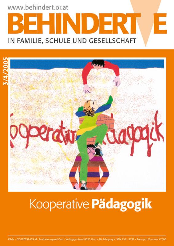 Bucheinband von 'Behinderte in Familie, Schule und Gesellschaft, Band 3/2005'