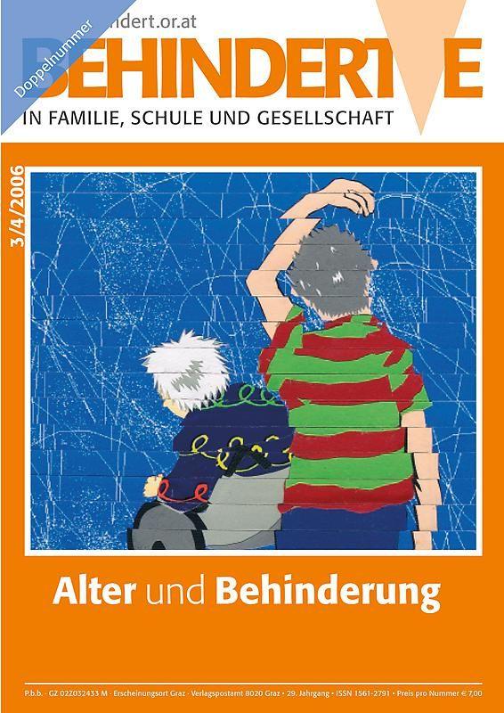 Bucheinband von 'Behinderte in Familie, Schule und Gesellschaft, Band 3+4/2006'