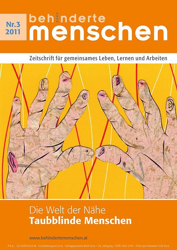 Bucheinband von 'Behinderte Menschen - Zeitschrift für gemeinsames Leben, Lernen und Arbeiten, Band 3/2011'
