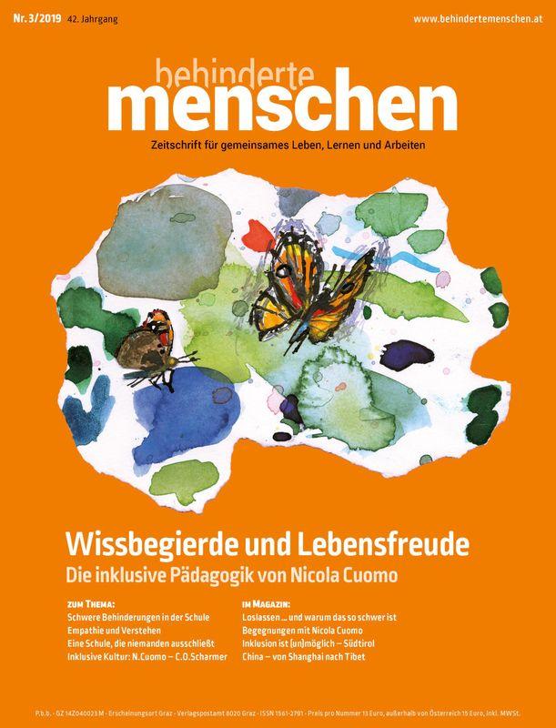 Bucheinband von 'Behinderte Menschen - Zeitschrift für gemeinsames Leben, Lernen und Arbeiten, Band 3/2019'