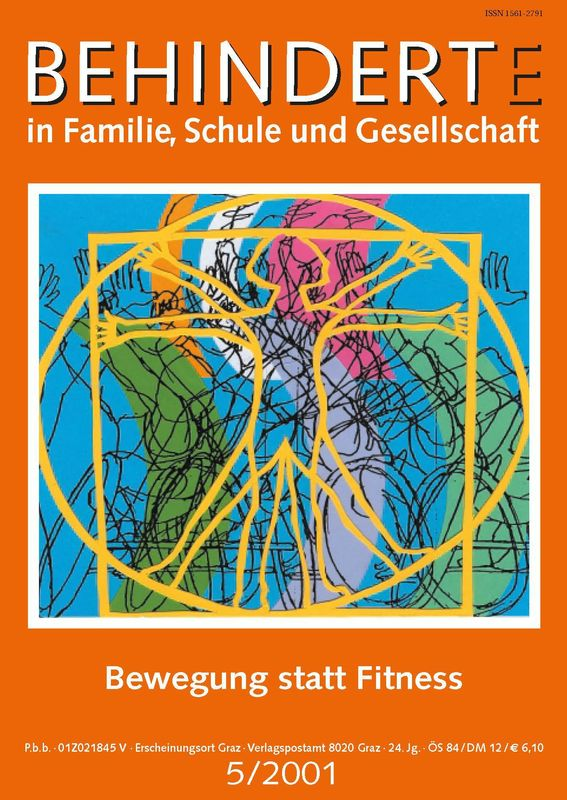 Bucheinband von 'Behinderte in Familie, Schule und Gesellschaft, Band 5/2001'