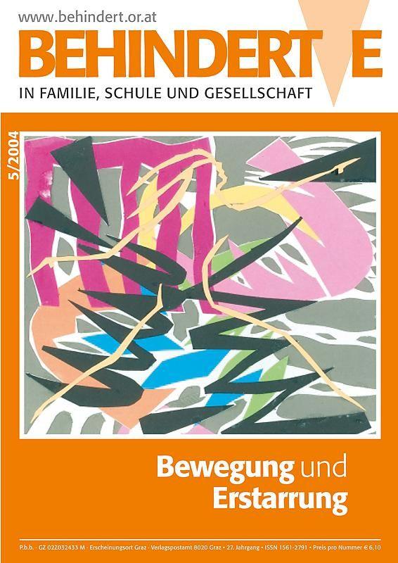 Cover of the book 'Behinderte in Familie, Schule und Gesellschaft, Volume 5/2004'