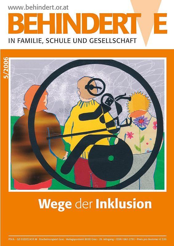 Bucheinband von 'Behinderte in Familie, Schule und Gesellschaft, Band 5/2006'
