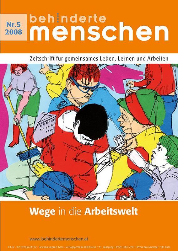 Bucheinband von 'Behinderte Menschen - Zeitschrift für gemeinsames Leben, Lernen und Arbeiten, Band 5/2008'