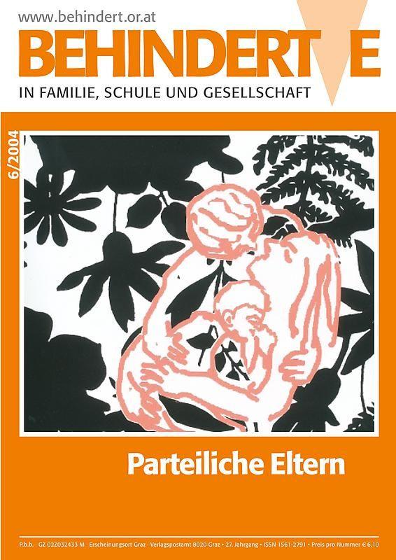 Bucheinband von 'Behinderte in Familie, Schule und Gesellschaft, Band 6/2004'