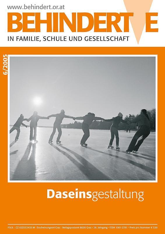Bucheinband von 'Behinderte in Familie, Schule und Gesellschaft, Band 6/2005'