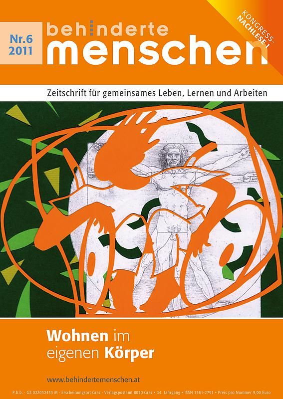 Bucheinband von 'Behinderte Menschen - Zeitschrift für gemeinsames Leben, Lernen und Arbeiten, Band 6/2011'