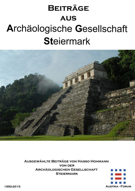 Bucheinband von 'Beiträge aus Archäologische Gesellschaft Steiermark'