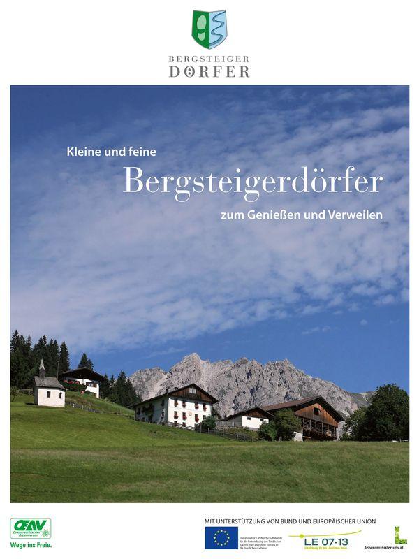 Bucheinband von 'Bergsteigerdörfer - Kleine und feine Bergsteigerdörfer zum Genießen und Verweilen'
