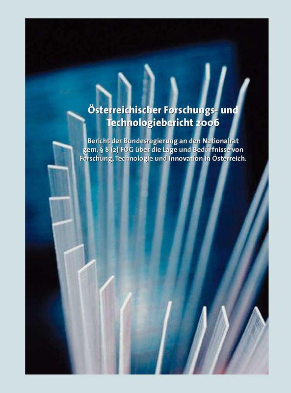 Bucheinband von 'Österreichischer Forschung- und Technologiebericht 2006'