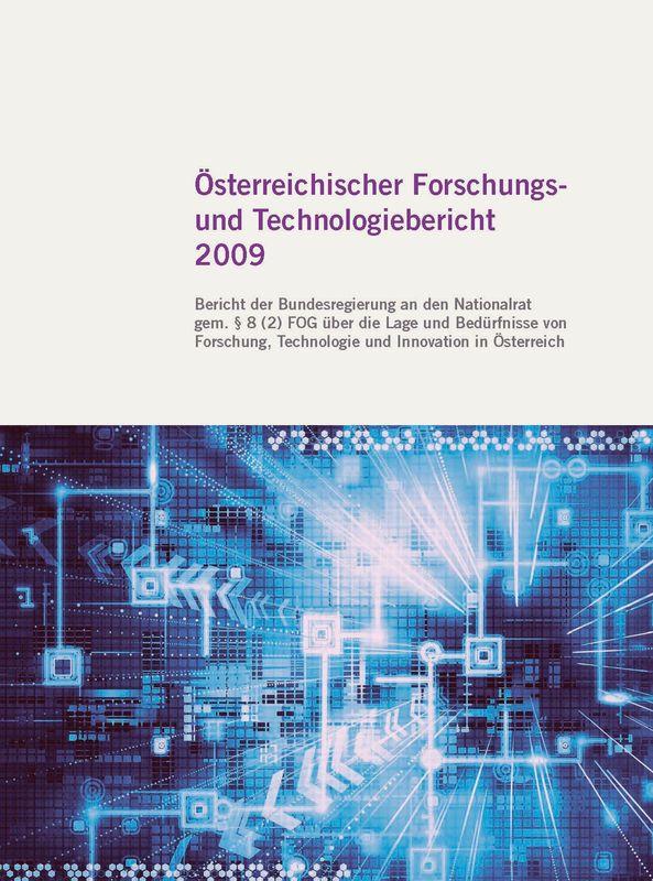 Bucheinband von 'Österreichischer Forschung- und Technologiebericht 2009'