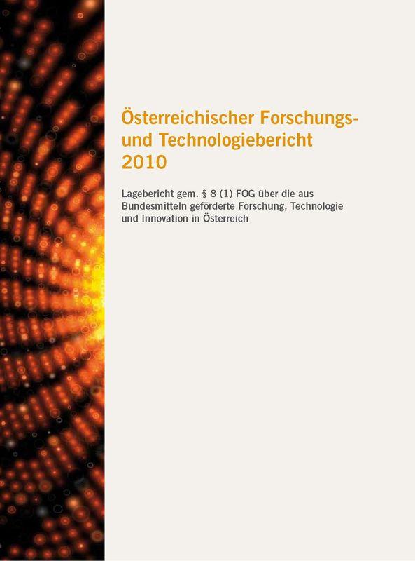 Bucheinband von 'Österreichischer Forschung- und Technologiebericht 2010'