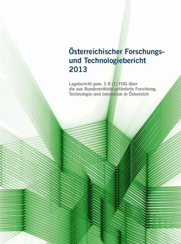 Bucheinband von 'Österreichischer Forschung- und Technologiebericht 2013'