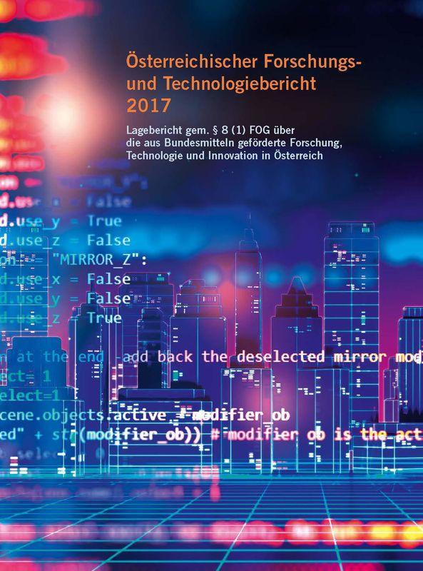 Bucheinband von Österreichischer Forschung- und Technologiebericht 2017