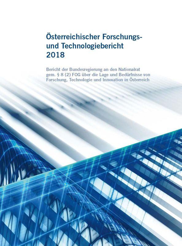 Bucheinband von 'Österreichischer Forschung- und Technologiebericht 2018'