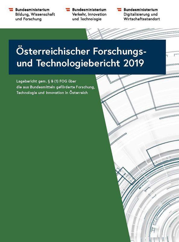 Bucheinband von 'Österreichischer Forschung- und Technologiebericht 2019'