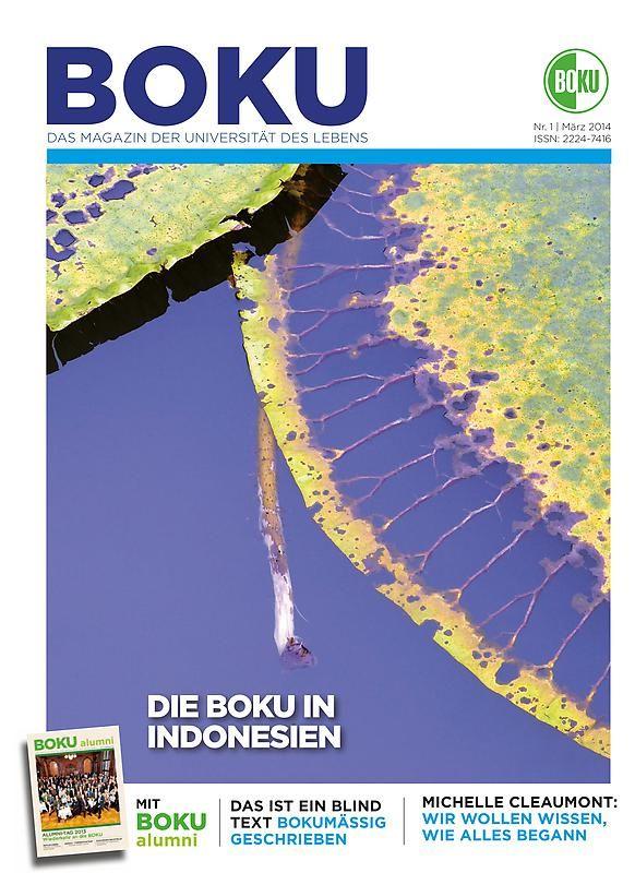 Bucheinband von 'BOKU - Das Magazin der Universität des Lebens , Band 1/2014'