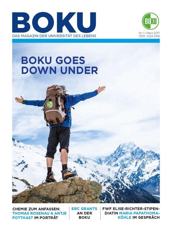 Bucheinband von 'BOKU - Das Magazin der Universität des Lebens, Band 1/2017'
