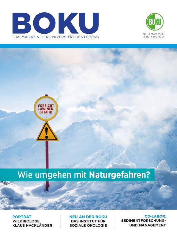 Bucheinband von 'BOKU - Das Magazin der Universität des Lebens, Band 1/2018'
