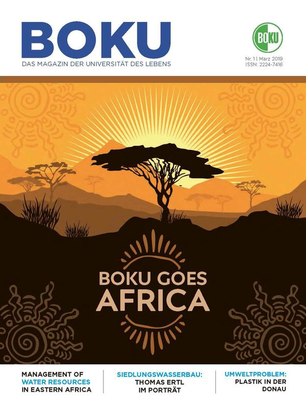 Bucheinband von 'BOKU - Das Magazin der Universität des Lebens, Band 1/2019'