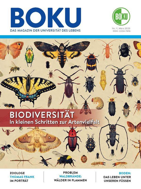 Bucheinband von 'BOKU - Das Magazin der Universität des Lebens, Band 1/2020'