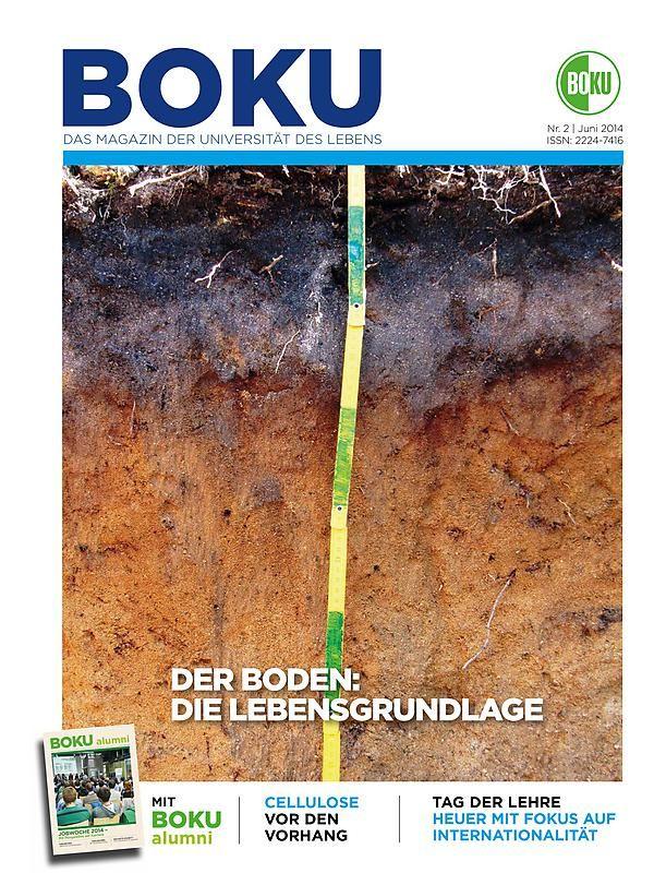 Bucheinband von 'BOKU - Das Magazin der Universität des Lebens , Band 2/2014'