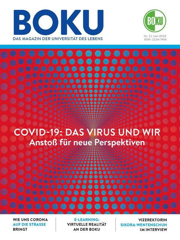 Bucheinband von 'BOKU - Das Magazin der Universität des Lebens, Band 2/2020'