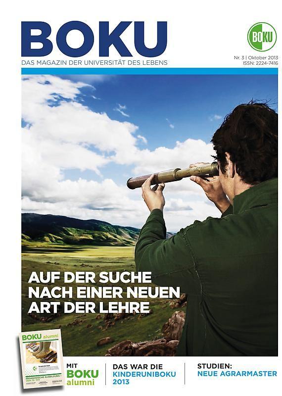 Bucheinband von 'BOKU - Das Magazin der Universität des Lebens, Band 3/2013'