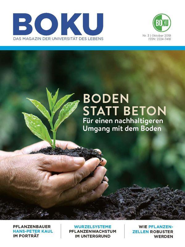 Bucheinband von 'BOKU - Das Magazin der Universität des Lebens, Band 3/2019'