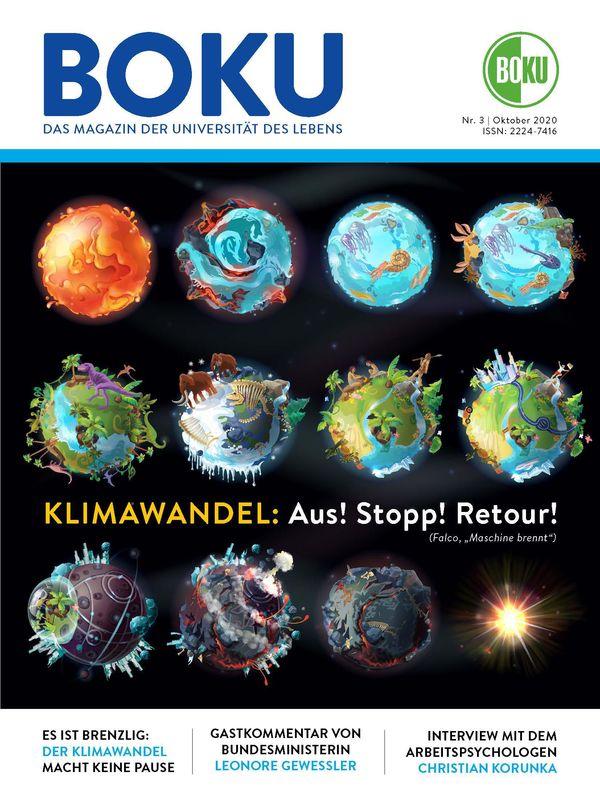 Bucheinband von 'BOKU - Das Magazin der Universität des Lebens, Band 3/2020'