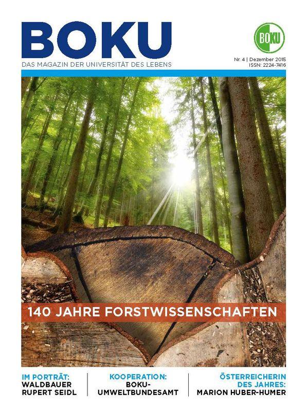 Bucheinband von 'BOKU - Das Magazin der Universität des Lebens, Band 4/2015'