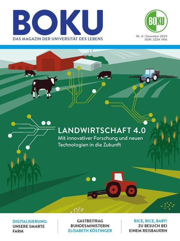 Bucheinband von 'BOKU - Das Magazin der Universität des Lebens, Band 4/2020'