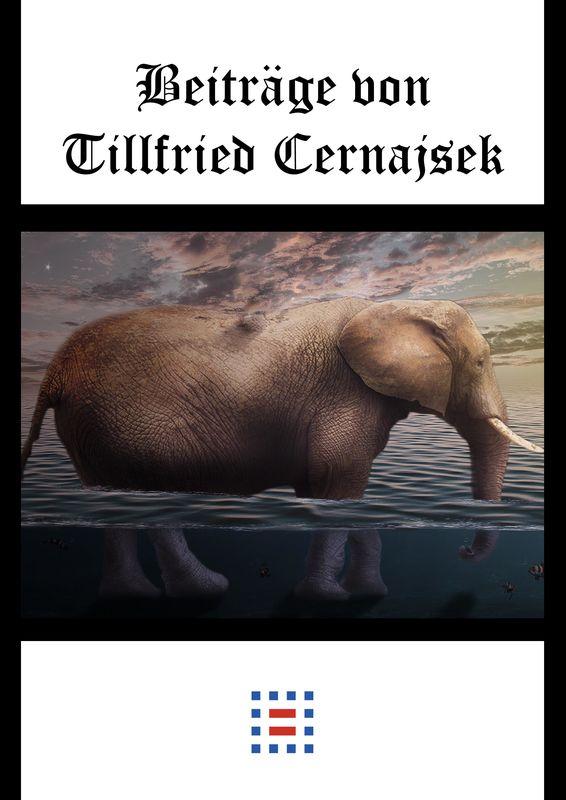 Bucheinband von 'Beiträge von Tillfried Cernajsek - Der Globus & Der Elefant'