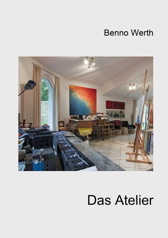 Bucheinband von 'Benno Werth - Das Atelier'