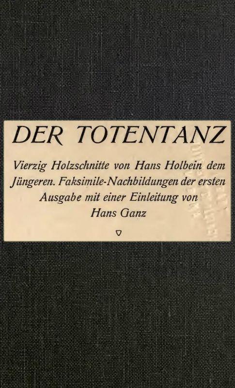 Bucheinband von 'Der Totentanz'
