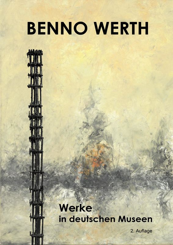 Bucheinband von 'Benno Werth - Werke in deutschen Museen'