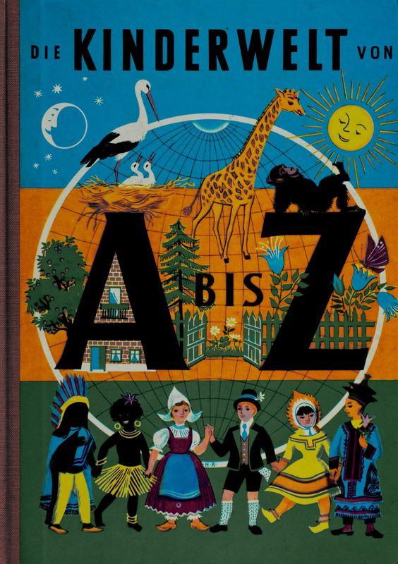 Bucheinband von Die Kinderwelt von A bis Z